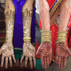 Personalized Bridal Henna