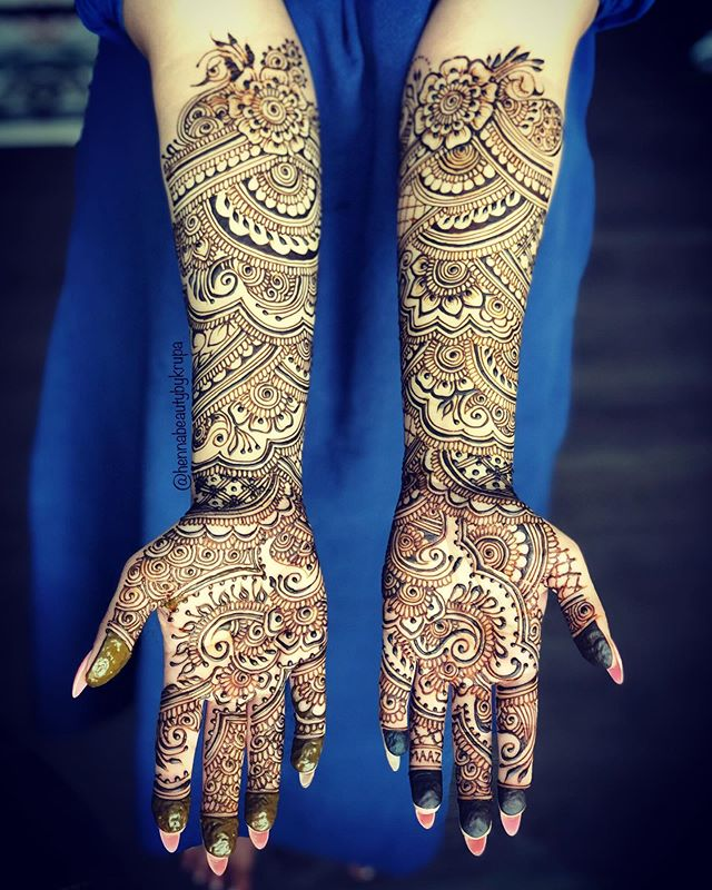 __ LEVEL UP __ When you love henna as mu