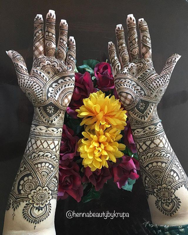 Spring bridal henna! _nidak623 #henna #h