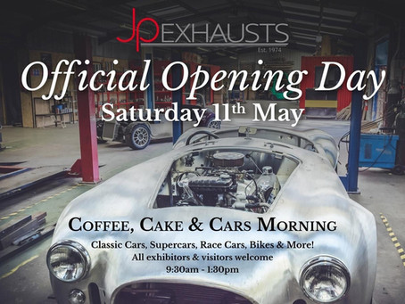 Cars & Coffee Morning Event (New Premises)