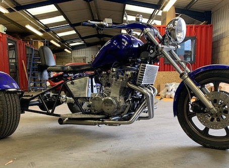 Project Focus – Amazing Trike Exhaust & Manifold build.