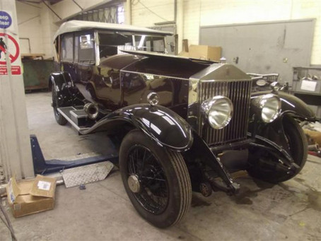 Project Focus - 1936 Rolls Royce Phantom Exhaust