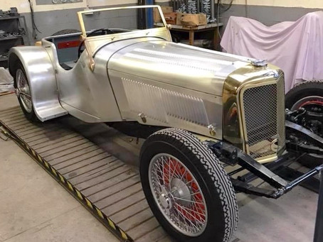 Project Focus - 1932 Jaguar SS100 Exhaust Build
