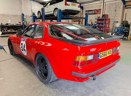 Project Focus - Porsche 944 Exhaust Ready For Hillclimb