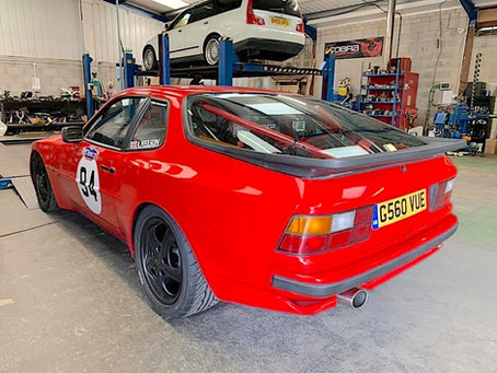 Project Focus - Porsche 944 Exhaust Ready For Hillclimb