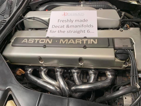 Project Focus – Aston Martin DB7 Exhaust & Manifold Build