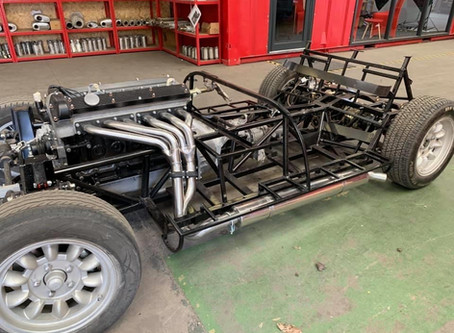 Project Focus – Custom Built Exhaust & Manifold for Kit Car with straight six