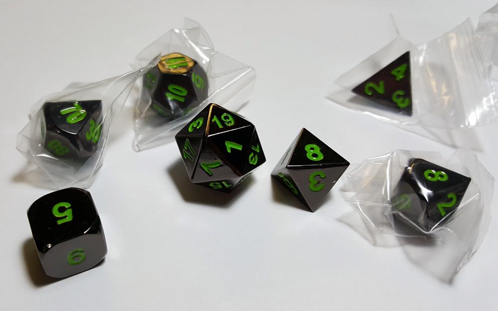 Sinister Chrome w/ Green!