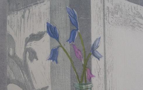 strip JoannaBourne, Evening Sun, woodcut