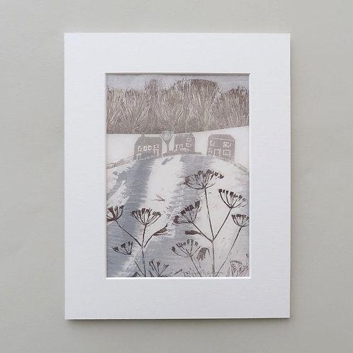 Winter Fennel - collage