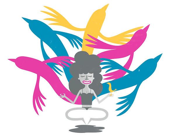 Matt Oxborrow, Illustration, Art Direction, character Design. Central Illustration Calendar Image