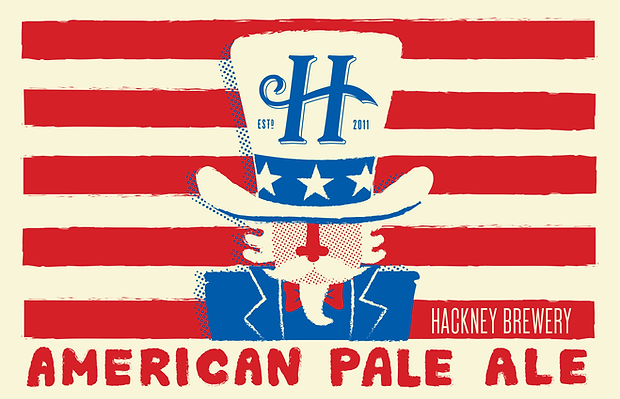 Matt Oxborrow, Illustration, Art Direction, character Design. Hackney brewery, illustrated beer labels.