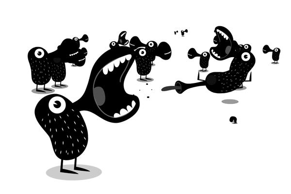 Matt Oxborrow, Illustration, Art Direction, character Design. Centra Illustration new media characters