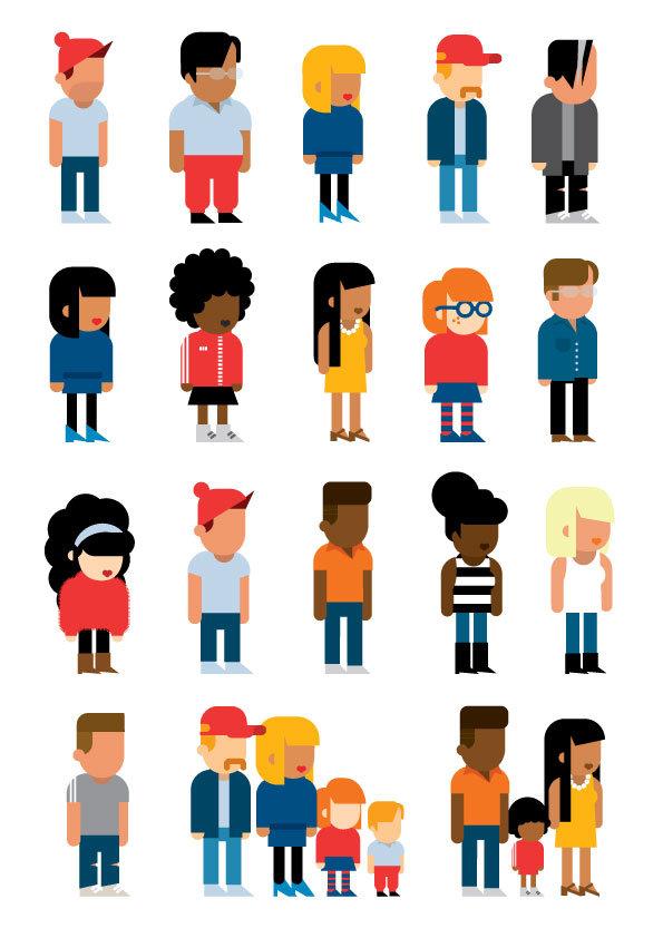 Matt Oxborrow, Illustration, Art Direction, character Design. Mindmates character design