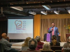 Adam Sank Brings the Laughter to ElderPride 2020