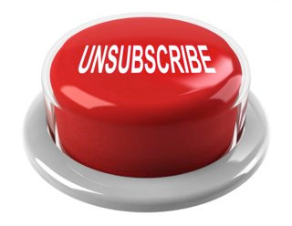 "Before your hit ""Unsubscribe"""