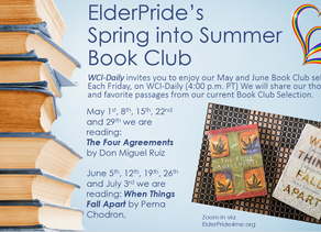 Spring into summer with ElderPride's Book Club Selections