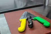 Knife safety training