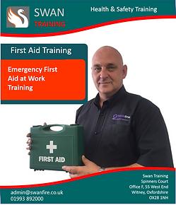 Emergency first aid t work training - Swan Training