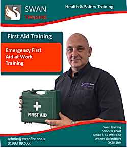 Emergency first aid t work training - Swan Training