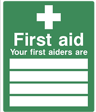 First aiders signage.png