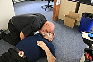 First Aid - Breathing check