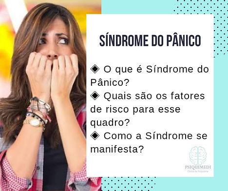 Síndrome do Pânico Psiquiatra em Brasilia