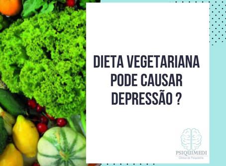 Dieta Vegetariana pode causar depressão ?