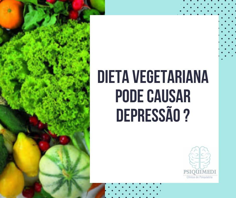 Dieta Vegetariana pode causar depressão