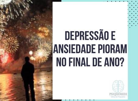 Depressão e Ansiedade pioram no Final de Ano?