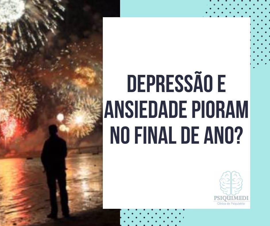 Depressão e Ansiedade Pioram no Final de Ano