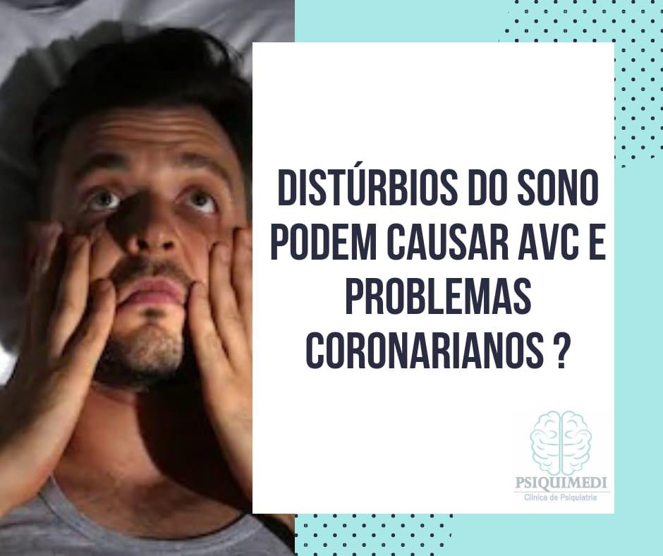 Distúrbios do sono podem causar AVC e problemas coronarianos