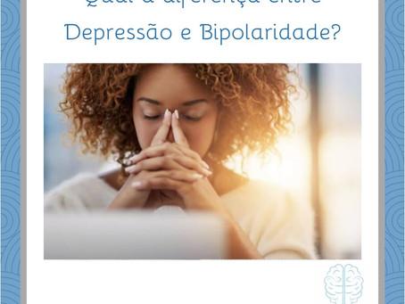 Qual a diferença entre depressão e bipolaridade ?
