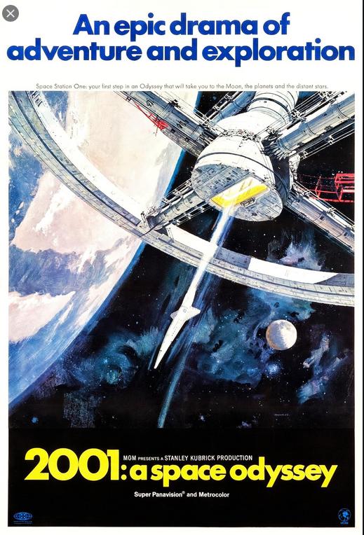 2001: a space odyssey (1968) (by Stanley Kubrick