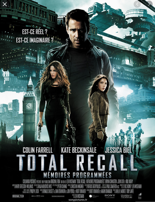 Total Recall (1990) by Paul Verhoeven