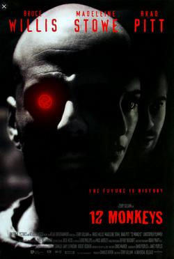 Twelve monkleys (1995) by Terry Gilliam