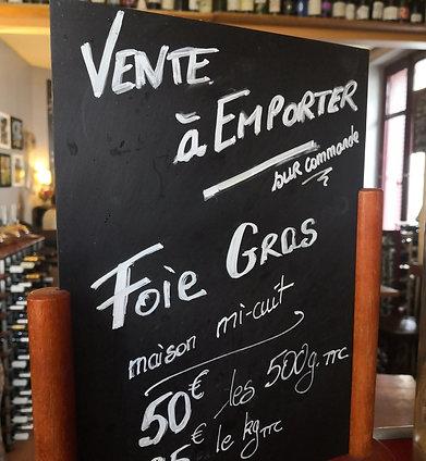 FOIE GRAS de Canard , Mi-cuit sous vide  50€ 500g /ou 95€ 1kg