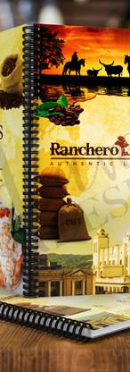 Ranchero Kitchen Menu