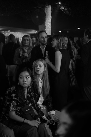 People watching the show