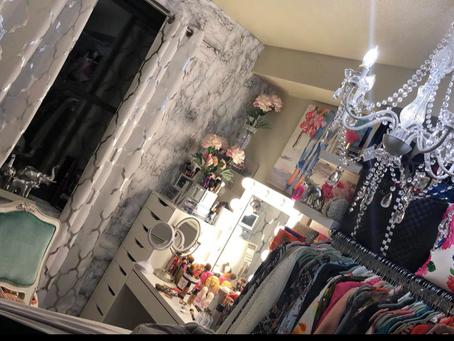 Glam Room Makeup Vanity
