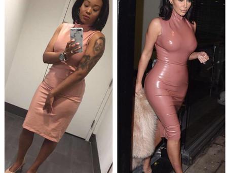 Affordable Inspired Kim Kardashian Outfit