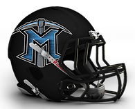 Mingo Central Football Helmet 2013