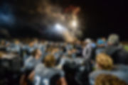 "Fireworks over Mingo Central Football at James H. ""Buck"" Harless Stadium"
