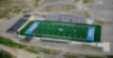 "The Home of Mingo Central Football: James H. ""Buck"" Harless Stadium"