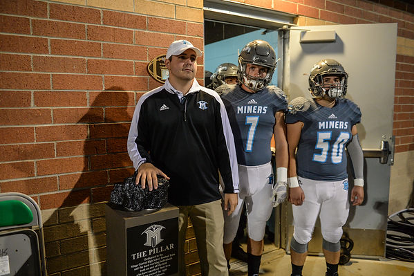 Coach Joey Fields and the Pillar of Mingo Central Football