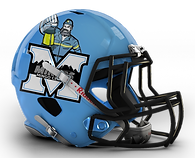 Mingo Central Football Helmet 2011
