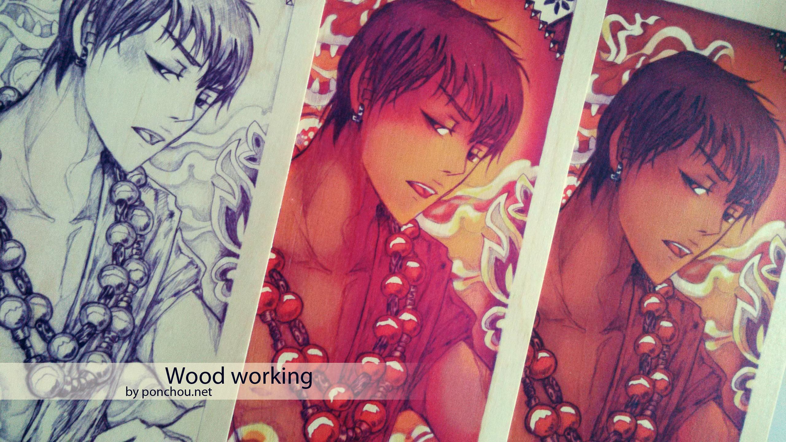 Illustration pour bois