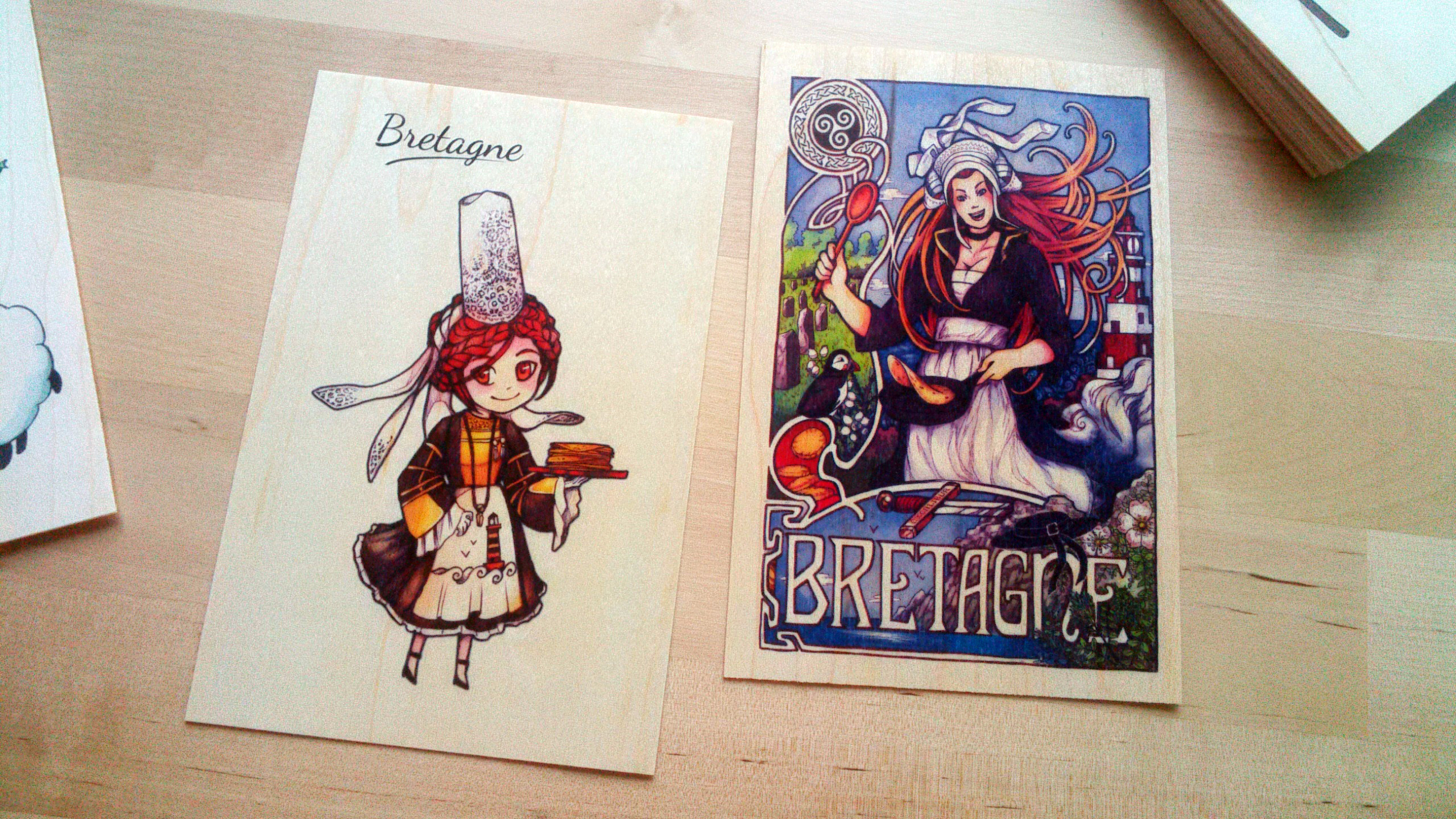 Cartes Bretagne