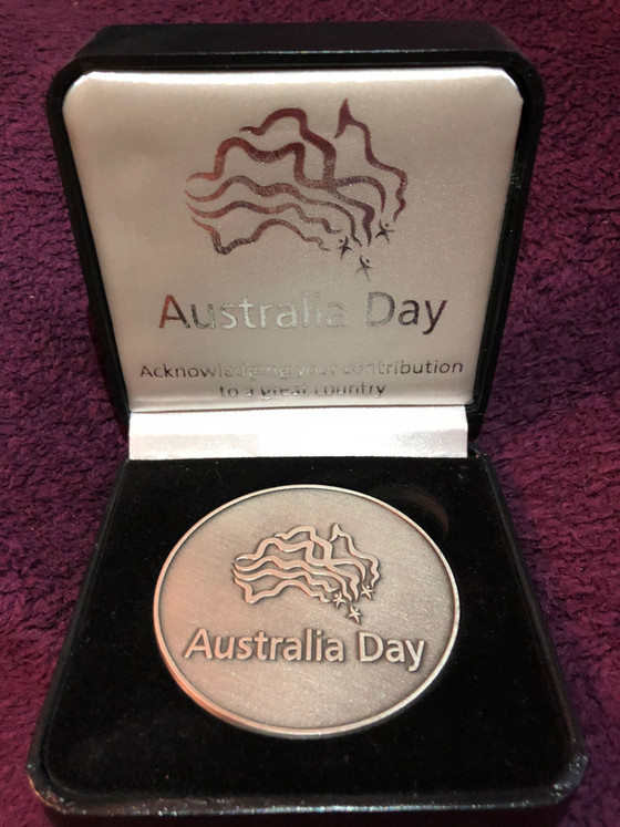 Australia Day 2018 Medallions