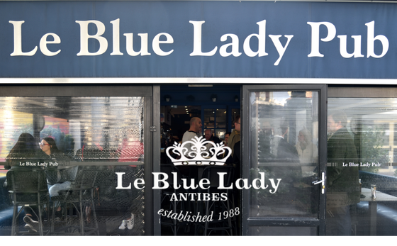 Breakfast and Lunch  at Le Blue Lady Pub